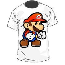 Franelas Mario Bros (xl~4xl)