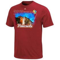 Franela Venezuela Clasico Mundial De Beisbol 2013 Majestic