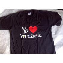 Franelas Con Amor A Venezuela Y Con Orgullo Venezolano