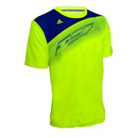 Franela Adidas Para Caballero F50 (amarillo Neon)