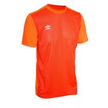 Franela Deportiva Umbro Train Caballero (naranja)