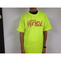 Franelas Hurley 100% Originales, Quick Silver Billabong
