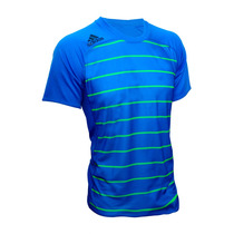 Franela Adidas Para Caballero (azul/verde)