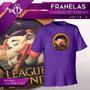 Franelas De League Of Legends 100% Algodon - Modelo Lol