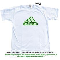 Franelas Adidas Mayor Y Detal 100% Algodon