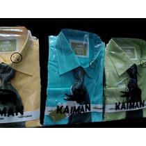 Camisas De Vestir Manga Larga Caballeros Con Corbata