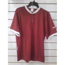 Franela Camisa Beisbol Yston Calada Rojo/blanco T-s