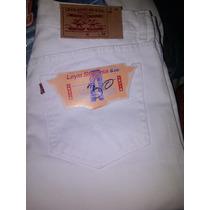 Pantalo Blanco Caballero