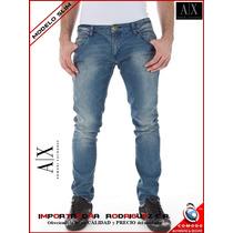 Pantalones Jeans Armani Exchange - Modelo Slim (originales)