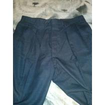 Pantalon Talla 34 Color Gris De Caballeros .