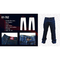 Pantalon Blue Jean De Caballero
