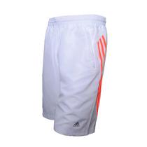 Short Training Largo Adidas Para Caballero (blanco)