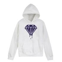 Sueter Sweater Dope Diamond Tela Gruesa Capucha Bolsillo