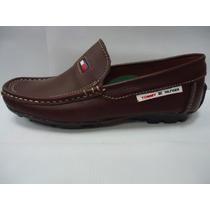 Zapatos Tommy Hilfiger De Vestil De Caballero Color Vinotin