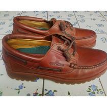 Zapatos Ostrich Clasicos Mocasine Casual 3 Hoyos Made In Usa