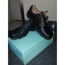 Zapatos Clarks Modelo Rico Step Color Negro Talla 43 Y 1/2