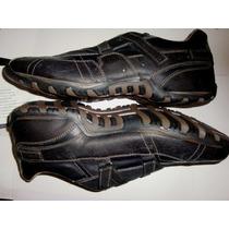 Zapatos Skecher De Cuero T- Usa 10.5. Caballero (43)