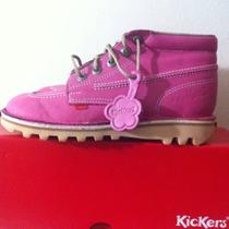 Zapatos Kickers Originales Tipo Botín Talla 36 100% Cuero