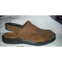Sandalias Para Caballero En Cuero