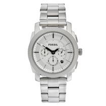 Reloj Acero Inoxidable Para Caballero Fossil Machine Fs4663
