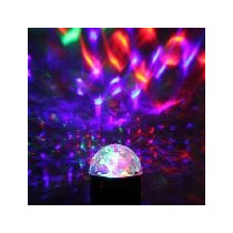 Bola Led Crystal Light (rítmica) Rgb Dj