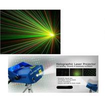 Mini Laser Ritmico Efecto Lluvia Estallidos Verde Y Rojo 12v