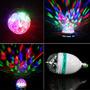 Bombillo Led Giratorio Multicolor. Laser, Ideal Para Eventos