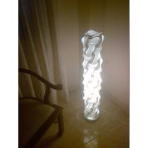 Lampara Id Lights De Pie Modelo Pisa Moderna Y Decorativa