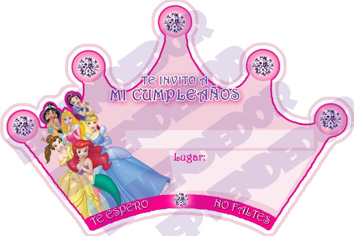 Invitaciones Para Imprimir Gratis De Princesas Disney Beb S MEMES ...
