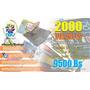 2000 Volantes Publicitarios Super Precio Bs 9500 Full Color