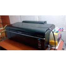 Impresora Epson T50, Inyector Medio Tapado, Tinta Continua