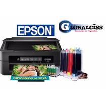 Impresora Epson Xp-211 Multifuncional Wi-fi + Tinta Continua