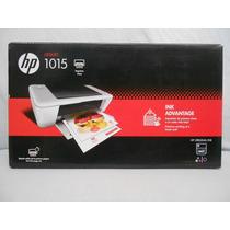 Impresora Deskjet Modelo 1015 Nueva