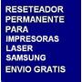 Desbloqueador Reset Samsung Ml-1915 Ml1915 Envio Gratis