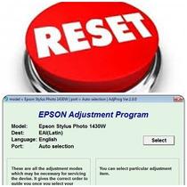 Reseteador Epson Error Almohadillas Epson Stylus Photo 1430w