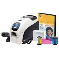 Impresora De Carnet Zebra Zxp Serie 3 Kit Imp,camara,pvc.