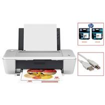 Impresora Hp Deskjet 1015 Con Cartuchos Y Cable Usb