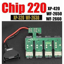 Chip Sistema Continuo Xp-320 Wf-2630 Xp-420 Wf-2650 2660 220