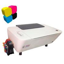 Impresora Multifuncional Hp 1515 + Sistema De Tinta Continua