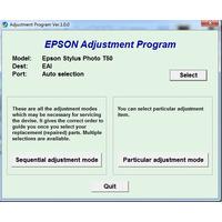 Reset De Impresora Epson T50