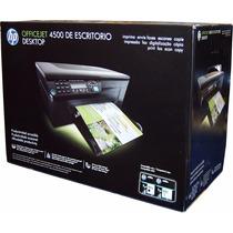 Impresora Multifuncional Hp Officejet 4500 Cm753a Wifi Eprin