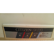 Impresora Matriz De Punto Citizen Gsx-220 Para Repuestos