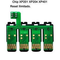 Chip Para Impresora Xp 201/401/101 Sin Bateria
