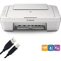 Impresora Multifuncional Canon Pixma Mg2520 Usb + Cartuchos