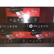Impresora Multifuncional Hp 3515. Wifi - Copiadora - Escanea