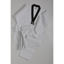 Uniforme Para Taekwondo Tela Acanalada Marca Golden Tiger
