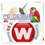 Wilcom 10 + Pe-desing Ver 6 Programas D Bordados Bordadoras
