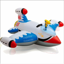 Flotador Inflable Niños Avion + Pistola De Agua 57539 40 Kg