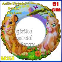 Anillo Inflable Flotador Disney Rey Leon Niños Intex 58229