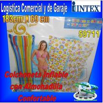 Colchon Colchoneta Flotadora Inflable Adulto Intex 59711